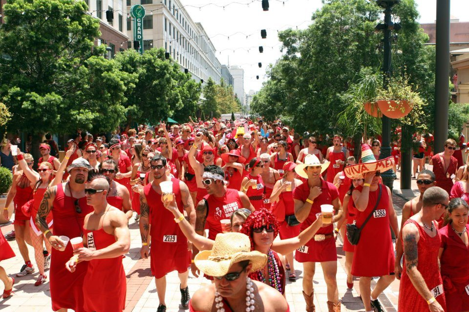 2016 New Orleans Red Dress Run